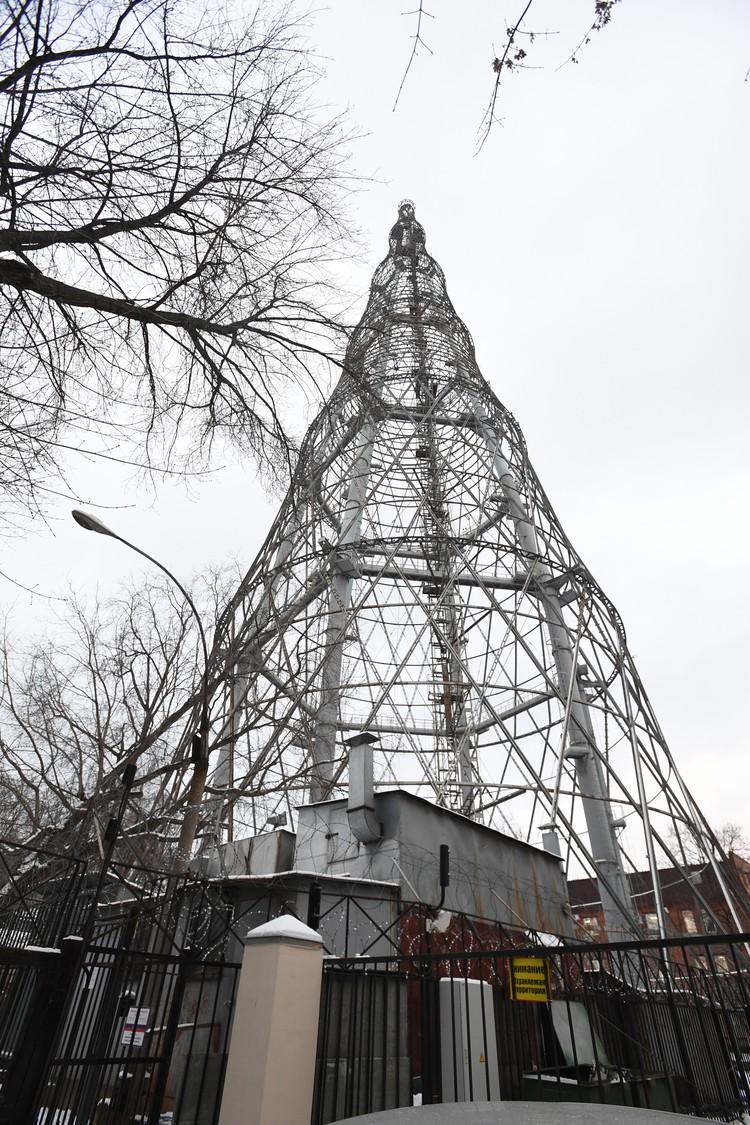 Шуховской телевизионной башне скоро исполнится 100 лет