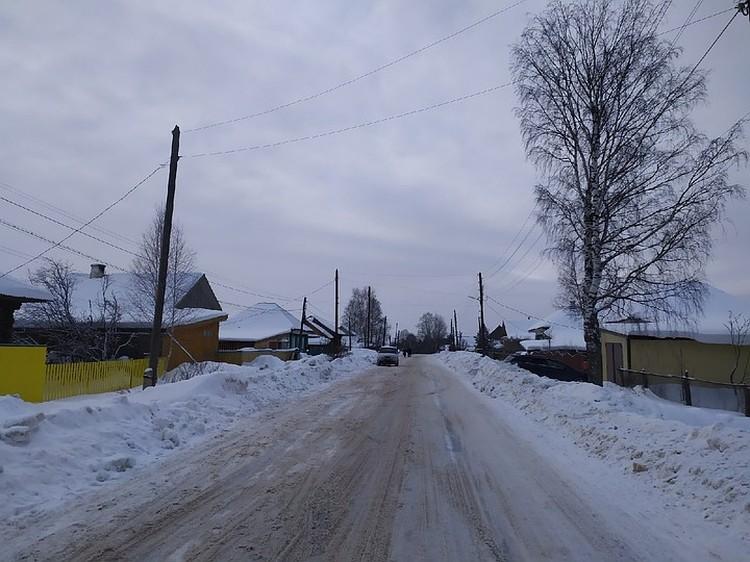 Улица, где жила семья. Соседи отзываются о них только с теплом.