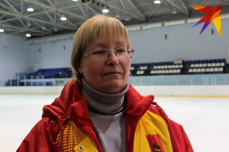 Тренер по конькобежному спорту Татьяна Юрьевна Бирюкова