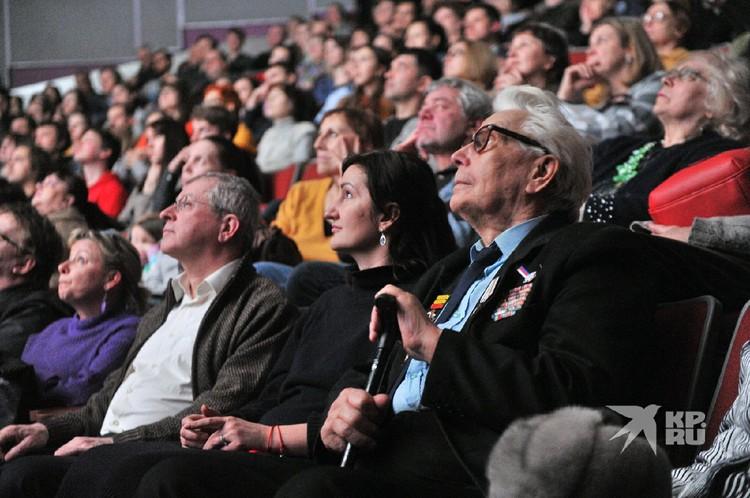 Ветерану фильм понравился