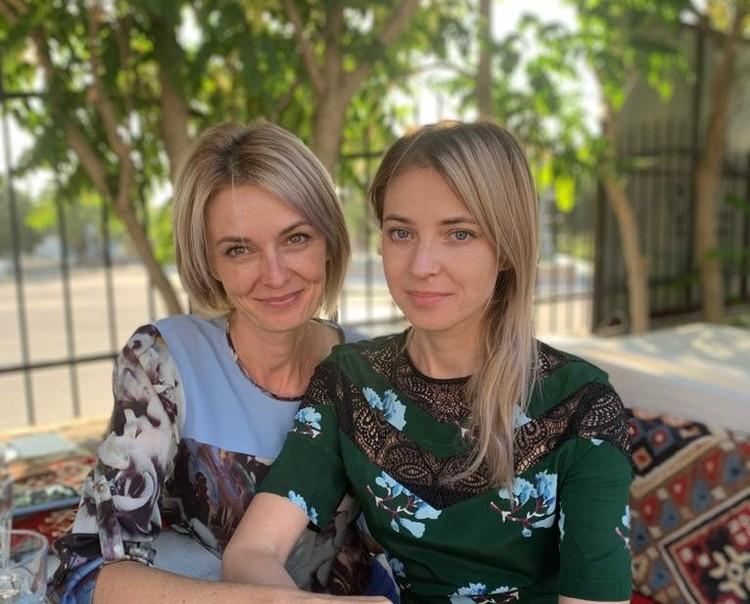 Елена Осадчая и Наталья Поклонская. Фото: Вести-Крым