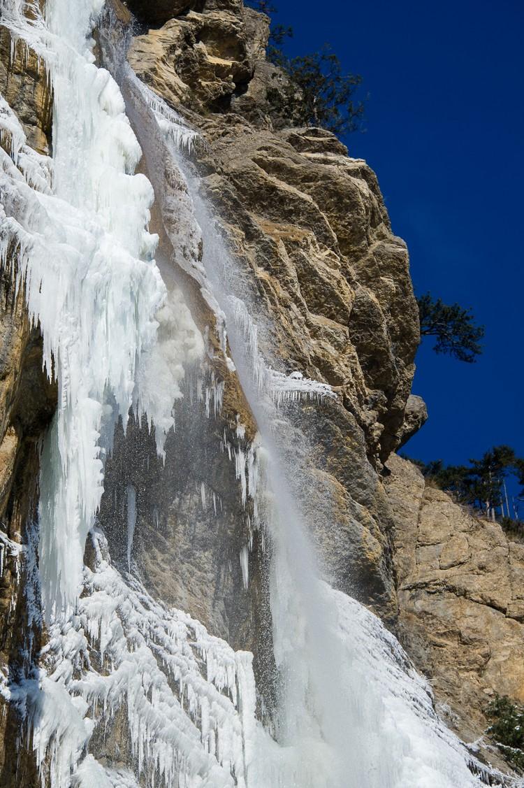 Водопад снабжает Ялту