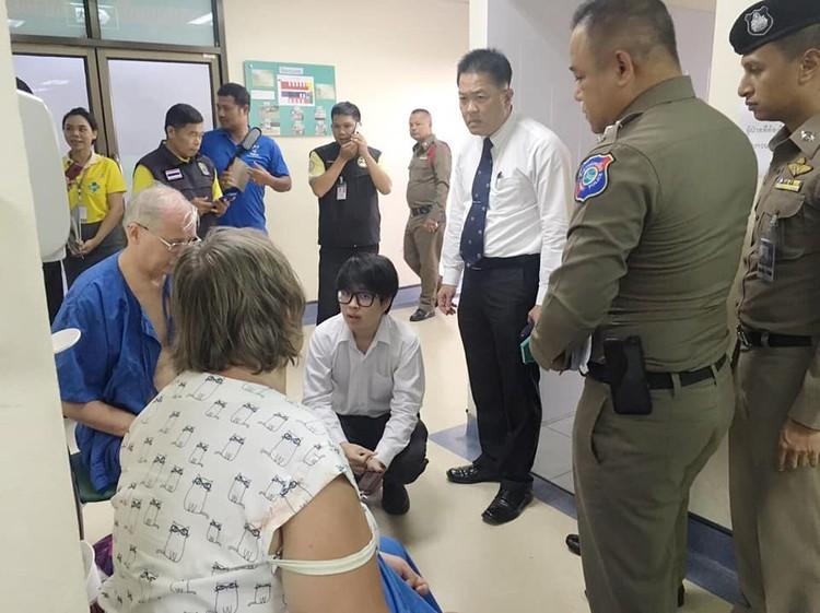 В госпитале Фото: Eakkapop Thongtub, The Phuket News