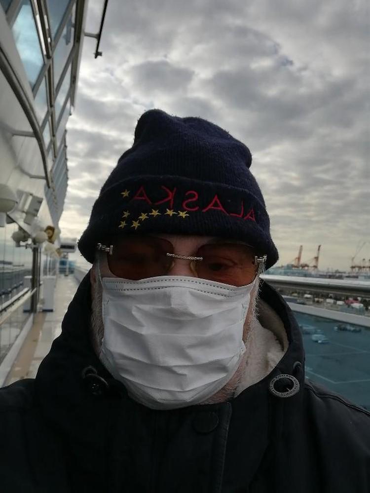 С масками на лайнере все очень строго - никто без них не ходит. ФОТО: Сергей Попов