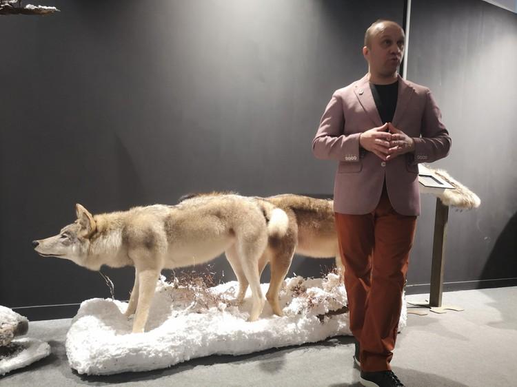 - Эта выставка в том числе и о воспитании потомства, - говорит Павел Глазков. Фото: vk.com/kazdoytvaripopare