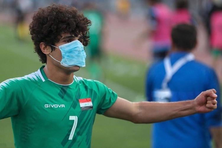 Игрок поддержал протекстующих в Ираке ФОТО: инстаграм Сафаа Хади