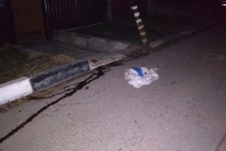 Место убийства Джейхуна Джафарова. Фото соцсетей
