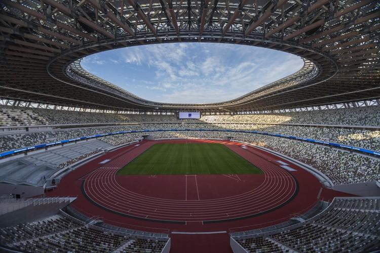 Новый Национальный стадион в Токио - один из объектов будущей Олимпиады.