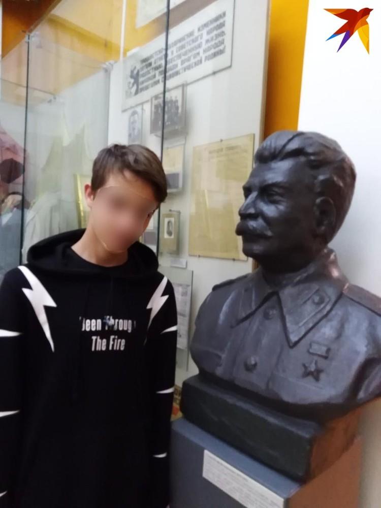 Игоря тянуло к военной тематике и полководцам