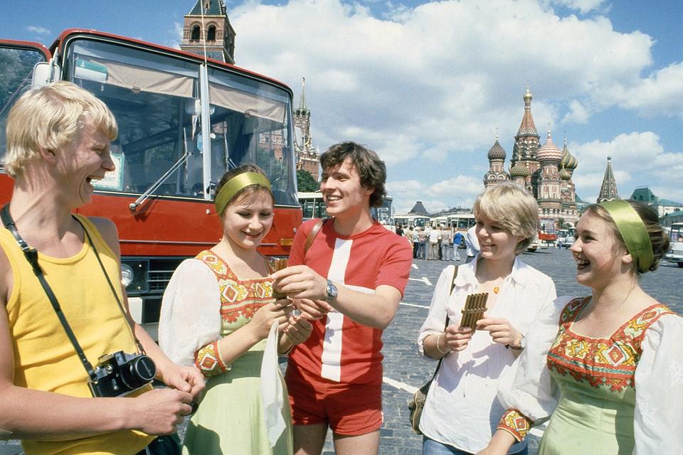 Олимпиада в Москве 1980 года породила целую горсть слухов и страхов в связи с приездом иностранных гостей. Фото: Губский Сергей/Фотохроника ТАСС