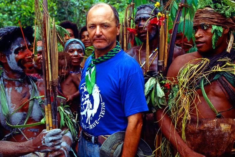 Путешественнику встречались племена, которые впервые увидели белого человека. Фото: palkiewicz.com