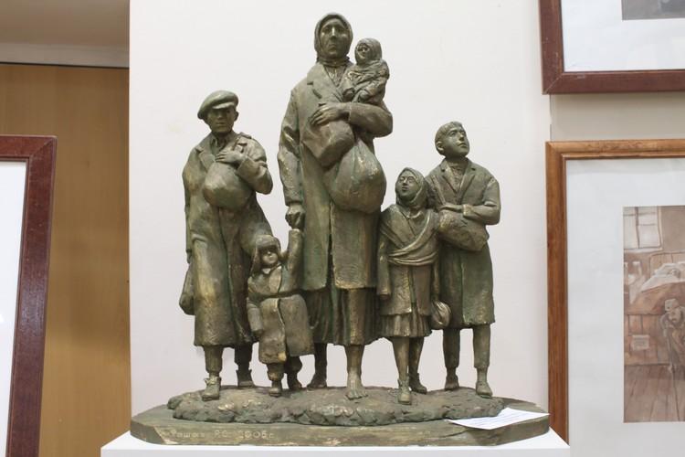 Работа «Беженцы 1941г. Украина. Полтава»