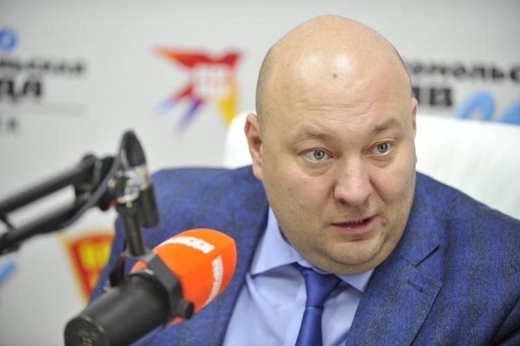 Денис Митрофанов, заместитель Мэра города по связям с общественностью и средствам массовой информации