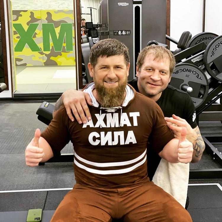Глава Чечни искренне сдружился с российским спортсменом и по-настоящему переживает за его подготовку к следующему бою