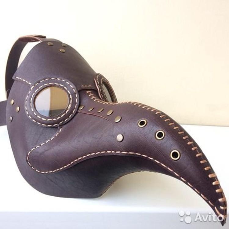 Вот такую чумную маску предлагают купить самарцам. Фото: Авито