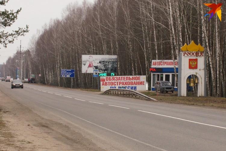 Трасса на Брянск опустела