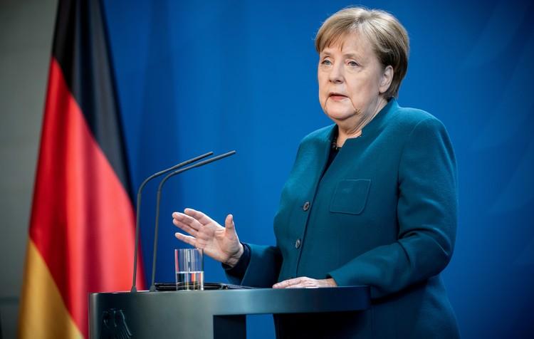 Ангела Меркель обратилась к немецкому народу