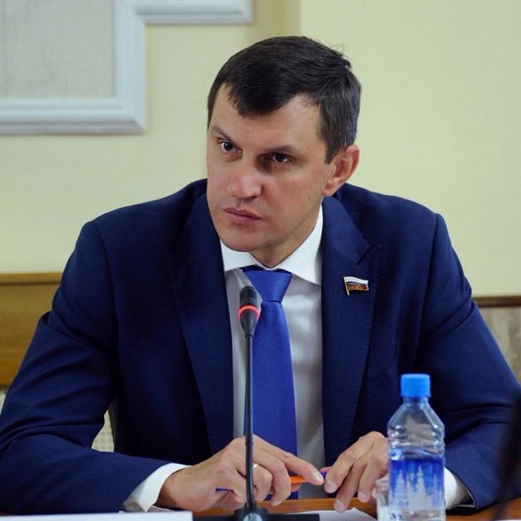 Алексей Балыбердин. Фото: личная страница парламентария в сети Facebook