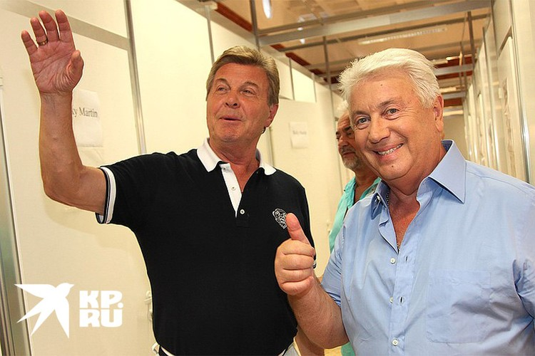Льва Лещенко и Владимира Винокура связывает многолетняя дружба.