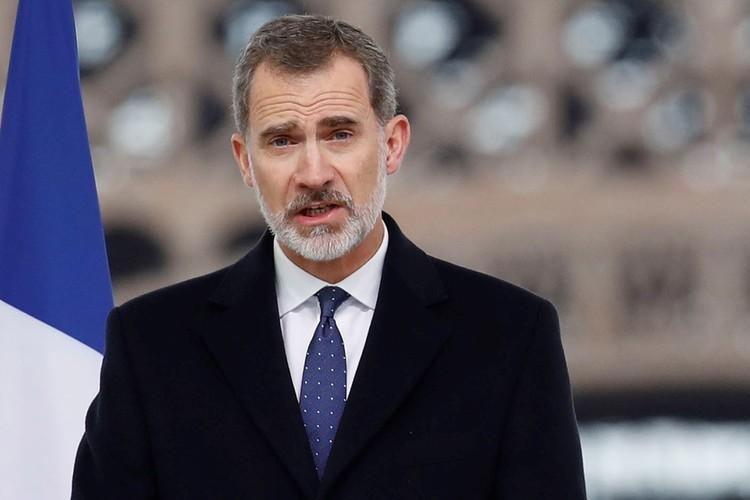Король Испании Фелипе VI.