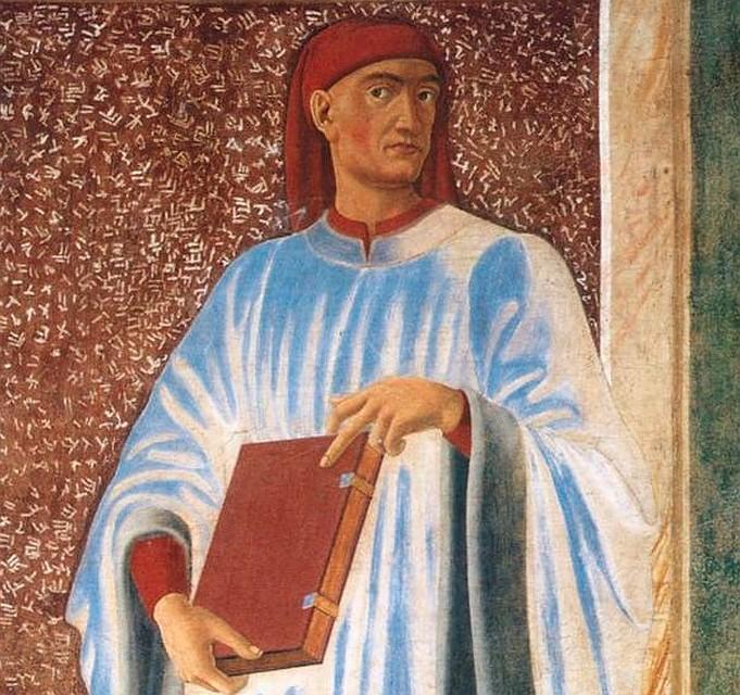 Джованни Бокаччо, фреска Андреа дель Кастаньо.