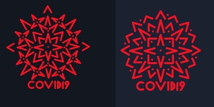 В логотипе используется фирменный узор. Автор: Михаил Головачев