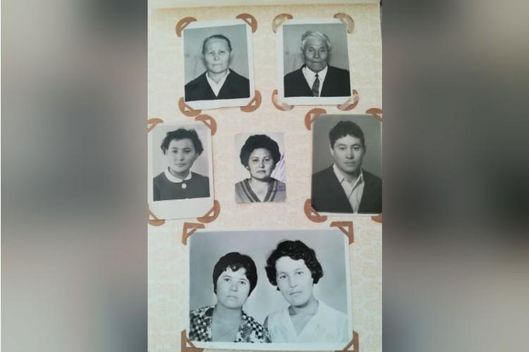 Семейный альбом Аксеновых, на нижнем снимке слева - Нина. Фото: личный архив.