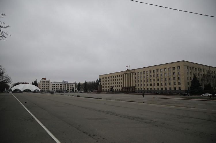 Общественные места в Ставрополе резко опустели к 30 марта