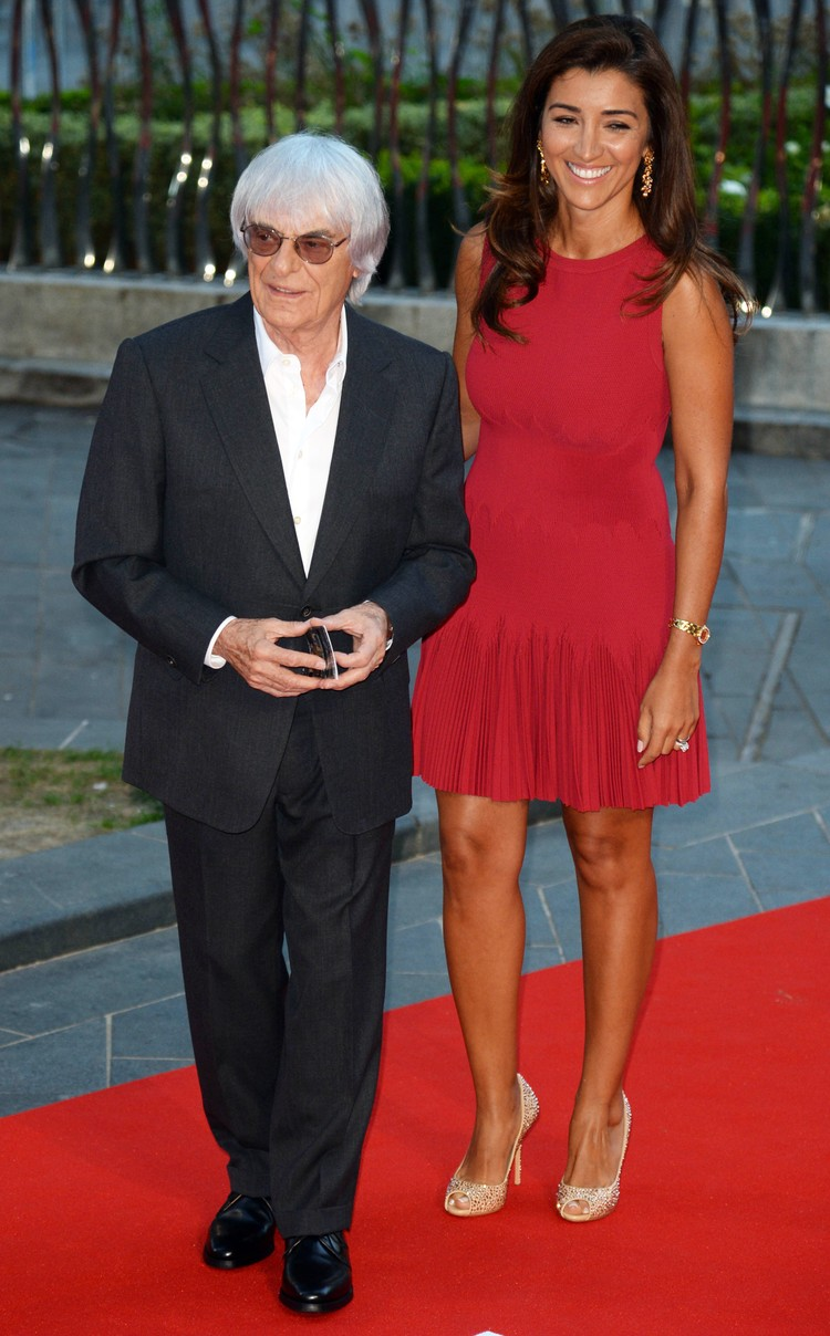 Берни и Фабиана поженились в 2012 году.