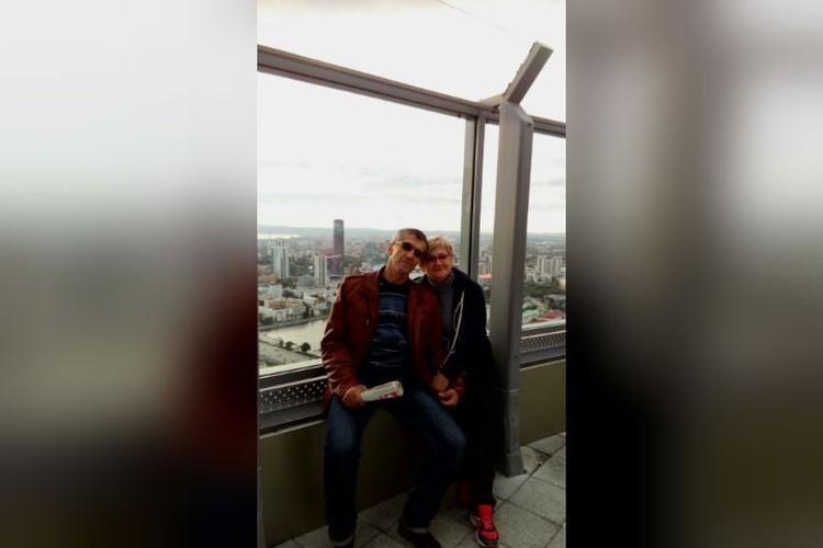 На 52-м этаже высотки в Екатеринбурге Николай сделал Ирине предложение. Фото: личный архив.