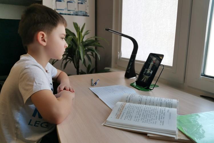 На виртуальные уроки можно приходить даже в пижаме.