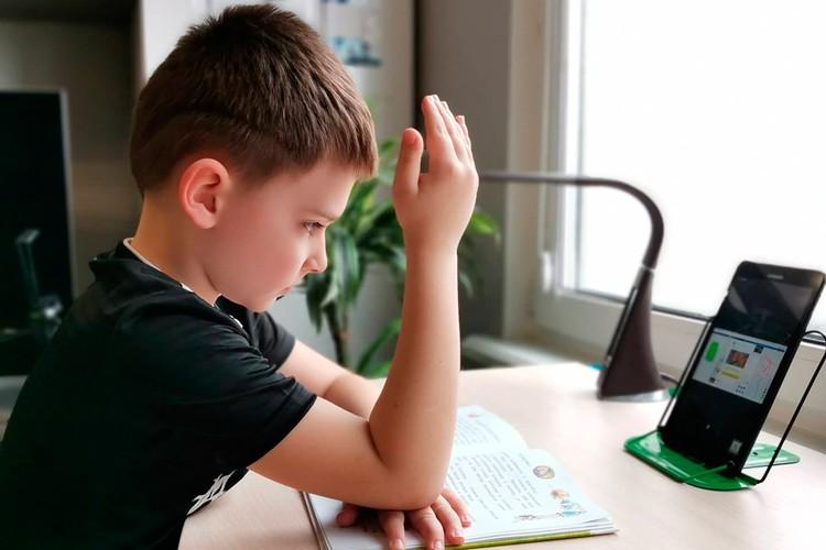 Главное - сосредоточиться на уроке и не переключиться на канал с мультиками.