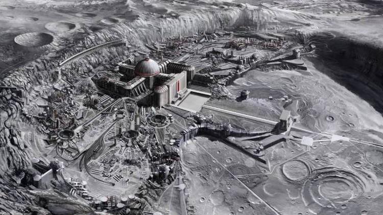 Чтобы добывать на Луне Гелий-3 потребуется построить там горнообогатительную фабрику.