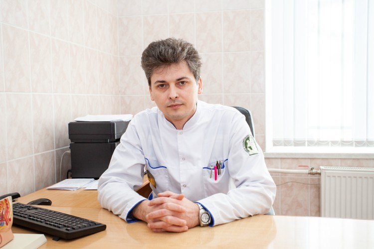 Врач-уролог Санкт-Петербургского Центра планирования семьи и репродукции Андрей Галынин.