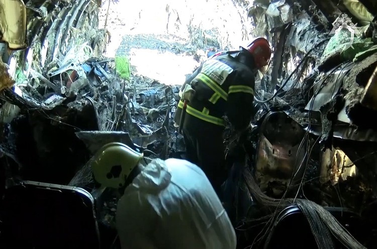 По версии следствия, самолет загорелся именно в результате неправильных действий Евдокимова. Фото: СК РФ/ТАСС