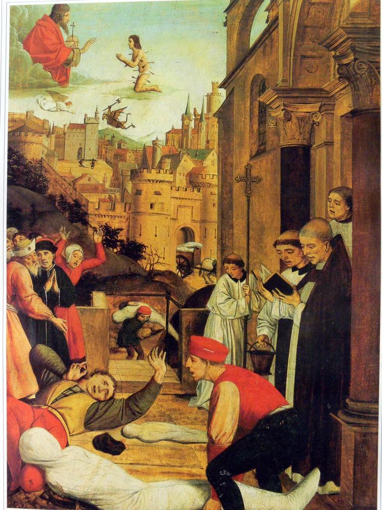 Юстинианова чума пришла из Египта в 540 году и бушевала 60 лет.