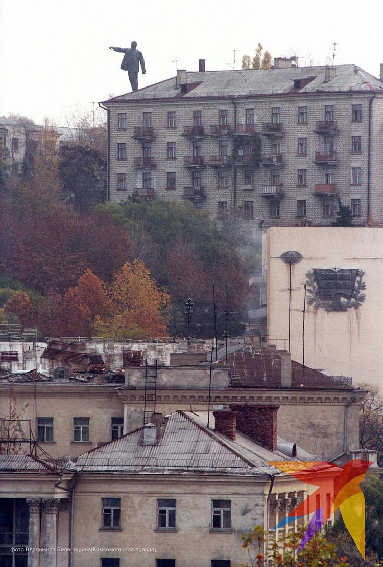 Город Севастополь в 90-х