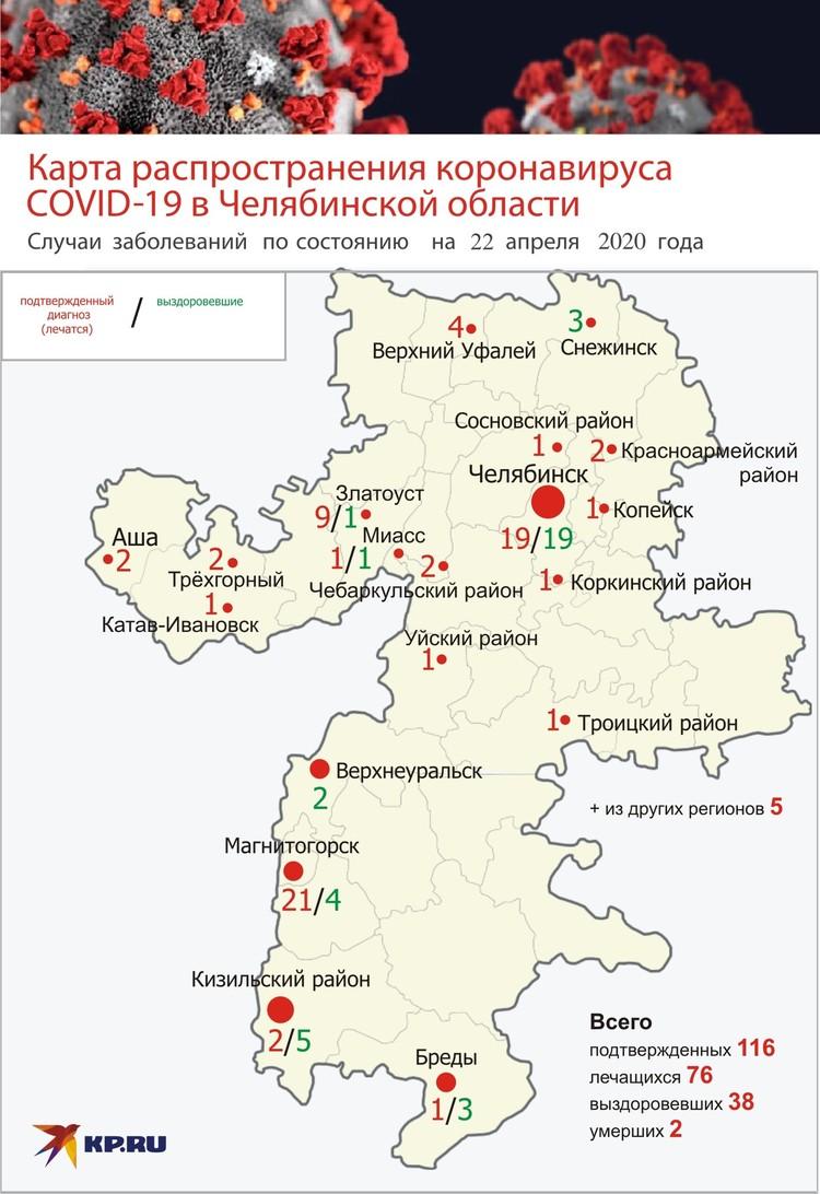Количество зараженных коронавирусом в Челябинске растет с каждым днем