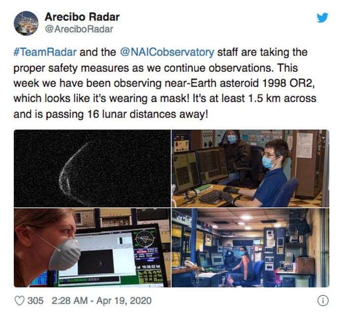 Сами астрономы работают в масках. Коронавирусов боятся.