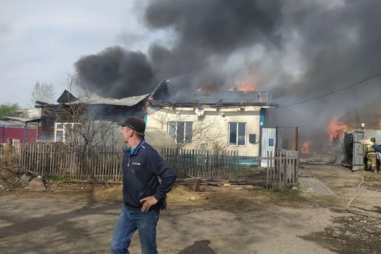 Дом Веры Куклиной сгорел как спичка. Фото: предоставлено Верой Куклиной
