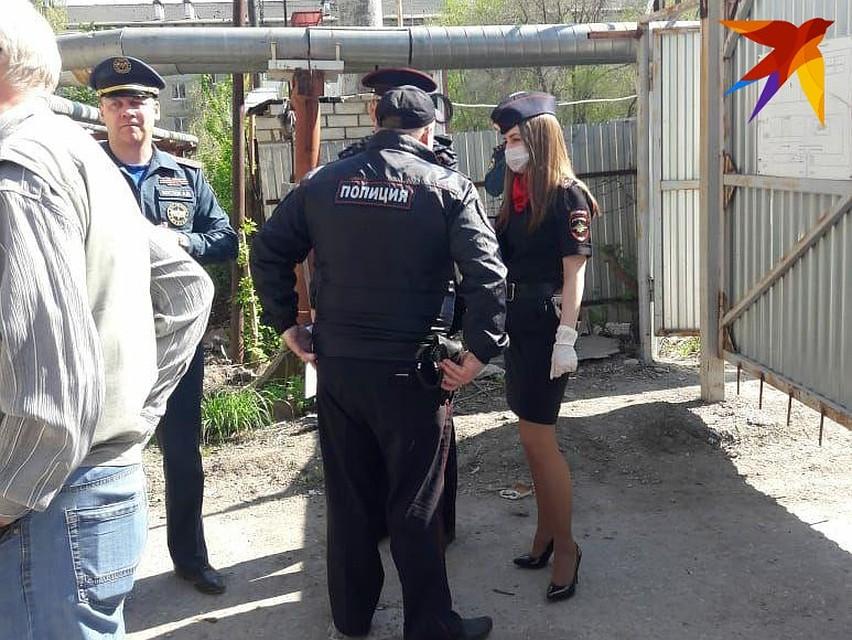 ...и полиция