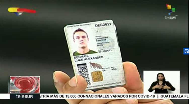 Люк Денман является гражданином США