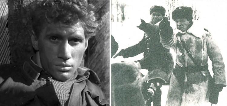 Особиста в фильме сыграл Борис Голодушко (справа на втором фото), капитана – Даниил Нетребин, а лейтенанта Климченко – Юрий Кузьменков (на фото слева). Фото: кадры из фильма