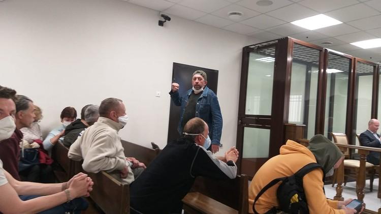 Сергей Петрухин в суде. Фото: Игорь Масловский