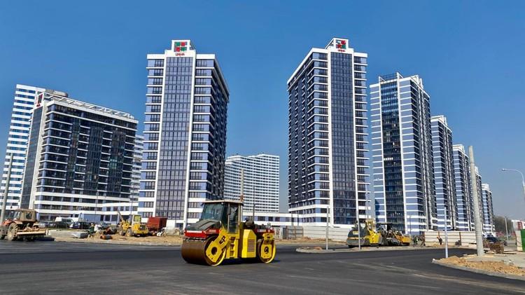 Квартал «Эмиратс Люкс» комплекса «Минск Мир» будет завершен первым – уже нынешней осенью.