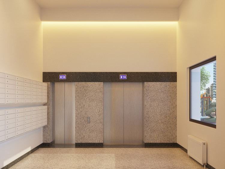 Лифты компании OTIS.