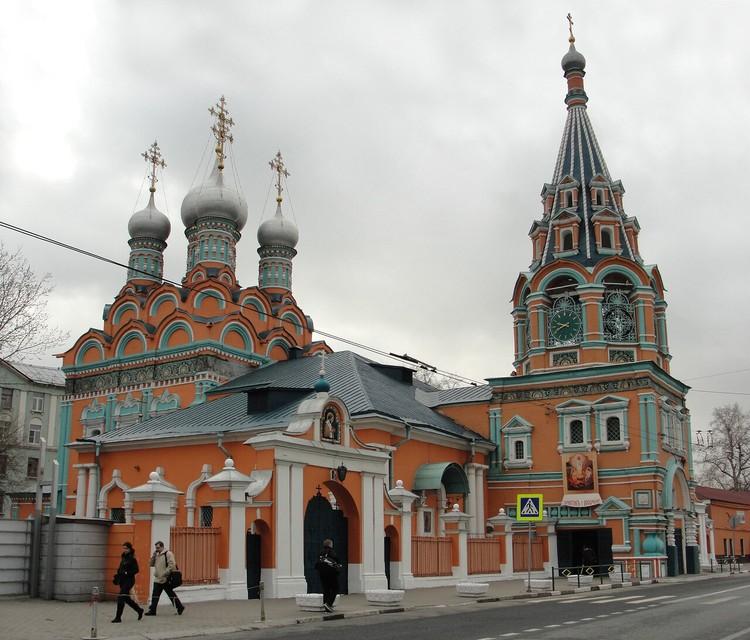 Церковь Григория Неокесарийского на Большой Полянке.