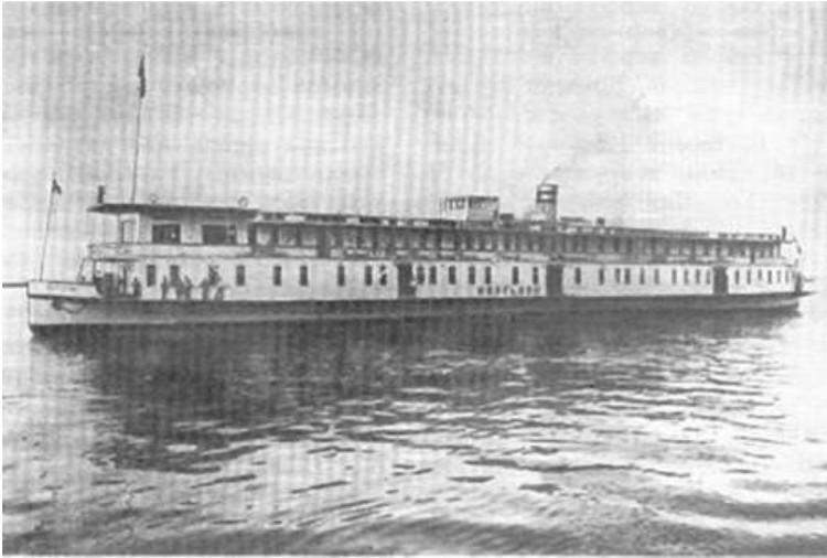«Маргелан» - так назвали этот пароход в 1913 году, когда он вышел с Коломенского завода.