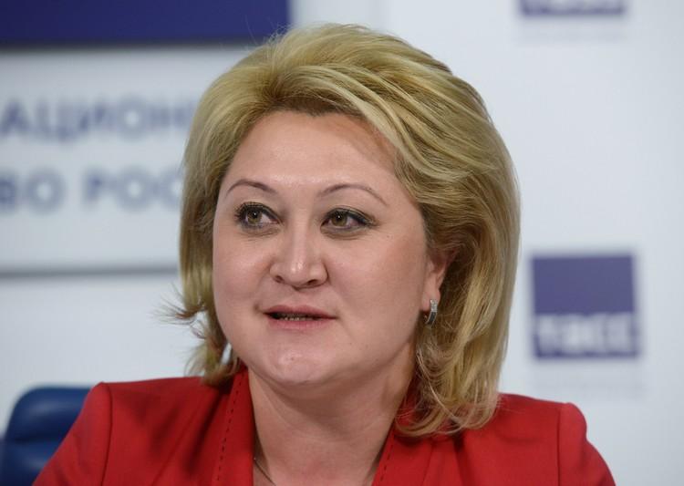 Лилия Гумерова. Фото: Николай Галкин/ТАСС