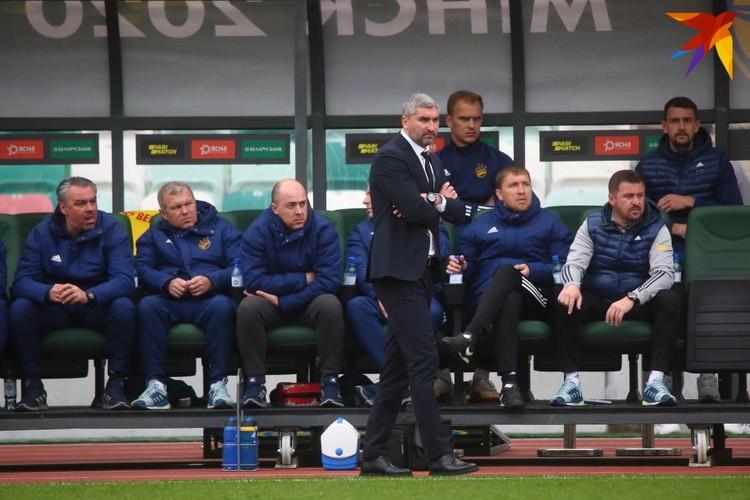 Кирилл Альшевский во время финального матча за кубок.